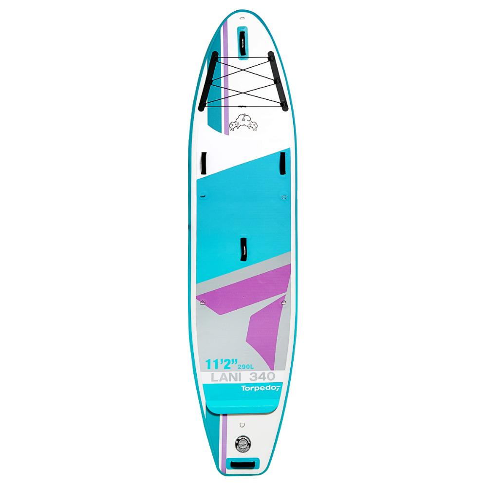 """11'2"""" Lani 340 Inflatable SUP Package"""