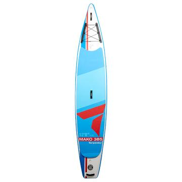 "Torpedo7 12'8"" Mako II 385 Inflatable SUP Package - Red/Blue"