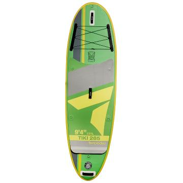 "Torpedo7 Tiki III 285 9'4"" Inflatable SUP Package - Green/Yellow"