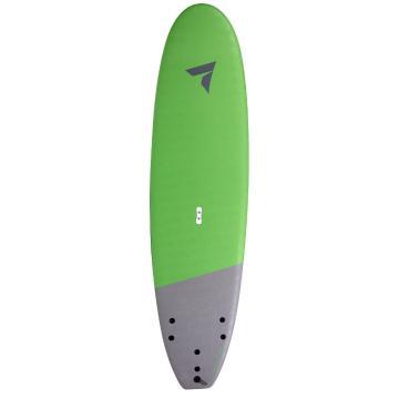 Torpedo7 7.0 EVS-HDPE Mini Mal Softboard V2 - Lime Green/Grey