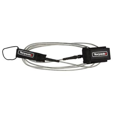 Torpedo7 SUP Double Swivel Leash - 10ft - Black