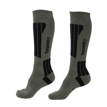 Torpedo7 Alp Snow Socks - Khaki