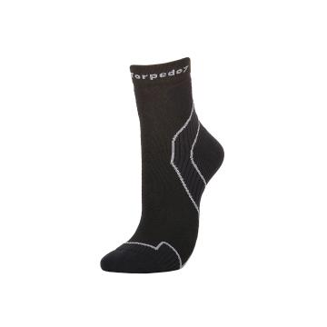 Torpedo7 Scrambler Active Socks - Black/Grey