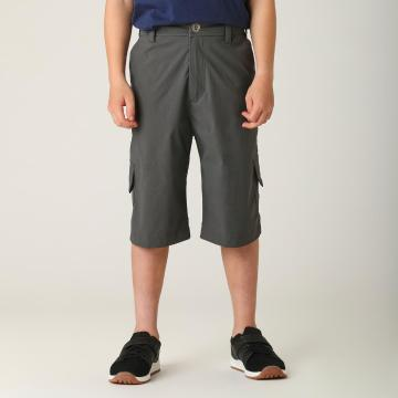 Torpedo7 Boys' Alpine Cargo Shorts - Charcoal