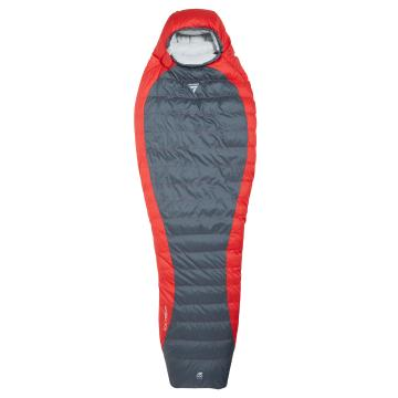 Torpedo7 Nebula 700 Down Sleeping Bag RZ - Red/Grey