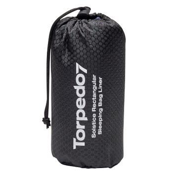 Torpedo7 Solstice Rectangular Sleeping Bag Liner - Blue