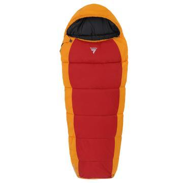 Torpedo7 Stargazer II Junior Sleeping Bag - Red/Orange