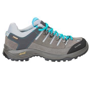 Torpedo7 Women's Milford  II Vibram Hiking Shoe - Grey/Ice Blue