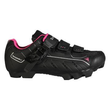 Torpedo7 Women's M15 Pro Cycle Shoes - Black/Berry
