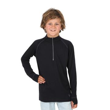 Torpedo7 Youth Merino Glacier Long Sleeve 1/2 Zip Sweater - 240gsm