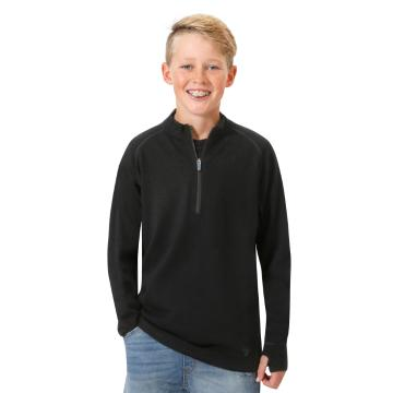 Torpedo7 Youth Merino Tasman 1/2 Zip Long Sleeve Sweater