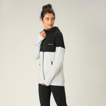 Torpedo7 Women's Session Hoodie - Black/Grey Marle