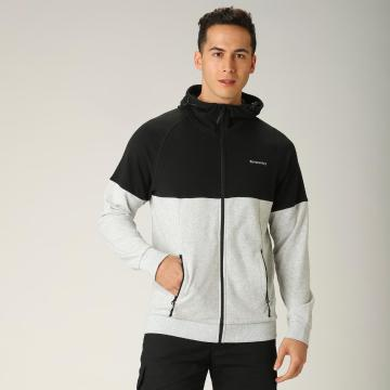 Torpedo7 Men's Session Hoodie - Black/Grey Marle