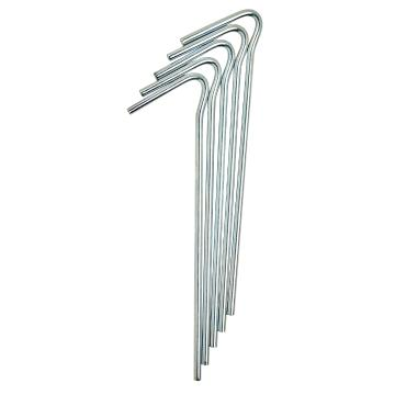 Torpedo7 8mm x 300mm Steel Tent Peg (5pcs)