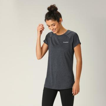 Torpedo7 Women's Elevate Raglan Tee - Steel Blue