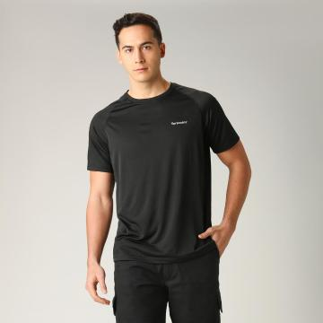 Torpedo7 Men's Elevate Raglan Tee - Black