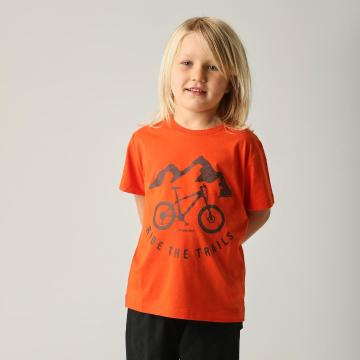 Torpedo7 Boys Graphic Tee - Orange