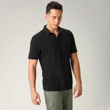 Torpedo7 Men's Pioneer Polo Tee - Black