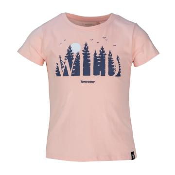 Torpedo7 Girls Short Sleeve Explore Graphic Tee
