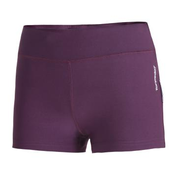 Torpedo7 Women's Motion Shorts - Grape/Soft Charcoal