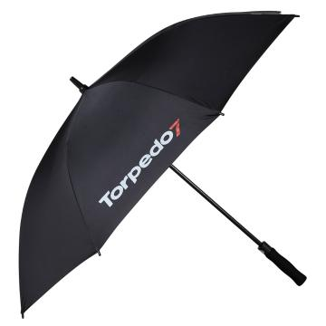 Torpedo7 Logo Umbrella Black - Black