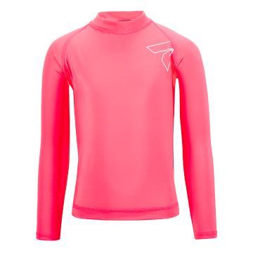 Torpedo7 Kids Mystic Long Sleeve Rash Top - Pink - Pink