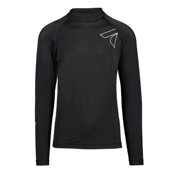Torpedo7 Razor Men's Long Sleeve Rash Top - Black