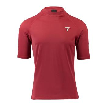 Torpedo7 Men's Coast Short Sleeve Rash Top - Red - Red/Red