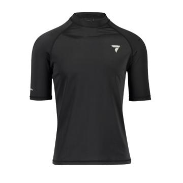 Torpedo7 Coast Men's Short Sleeve Rash Top - Black/Black