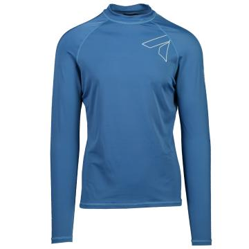 Torpedo7 Razor Mens Long Sleeve Rash Top - Teal