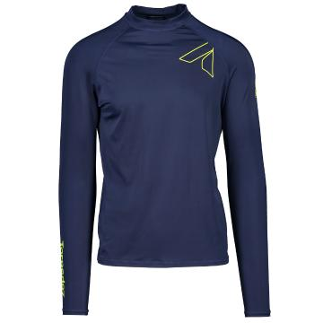 Torpedo7 Razor Mens Long Sleeve Rash Top - Navy