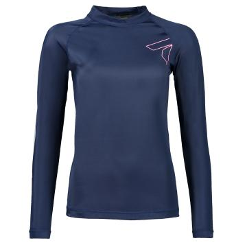 Torpedo7 Women's Mystic Long Sleeve Rash Top - Navy