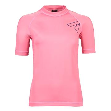 Torpedo7 Women's Mystic Short Sleeve Rash Top - Watermelon