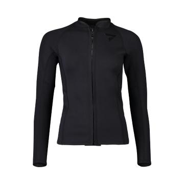 Torpedo7 Women's Gamma Neo Stretch Long Sleeve Top - Black - Black/Black