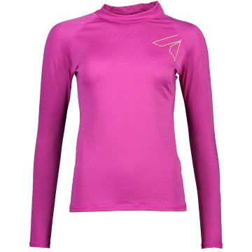 Torpedo7 Women's Mystic Long Sleeve Rash Top - Crimson