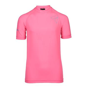Torpedo7 Youth Mystic Short Sleeve Rash Top - Pink