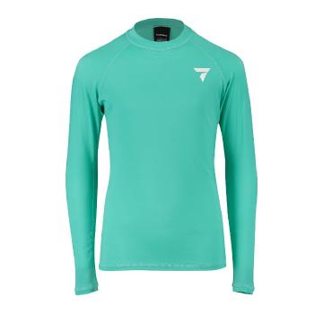 Torpedo7 Youth Tide Long Sleeve Rash Top - Teal - Teal/Teal