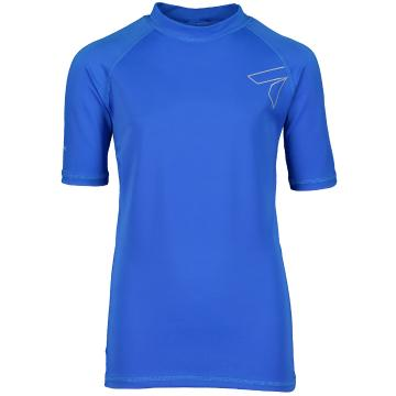 Torpedo7 Youth Razor S/S Rash Top - Blue