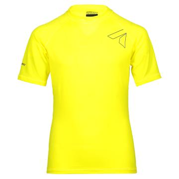 Torpedo7 Youth Razor S/S Rash Top - Yellow