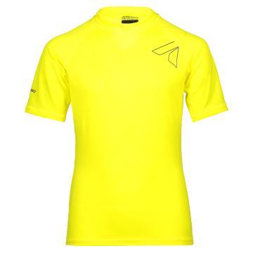Torpedo7 Youth Razor S/S Rash Top - Yellow