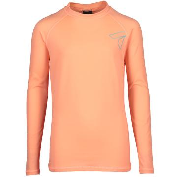 Torpedo7 Youth Mystic L/S Rash Top - Coral