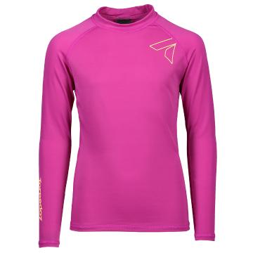 Torpedo7 Youth Mystic L/S Rash Top - Crimson