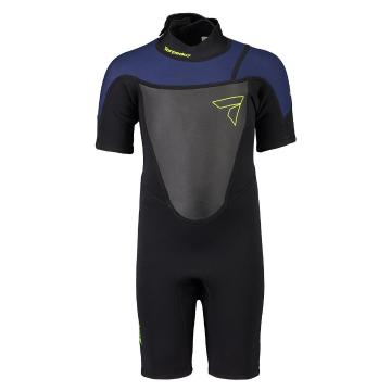 Torpedo7 Kids Boys Evo 2/2 Spring Suit  - Black/Navy