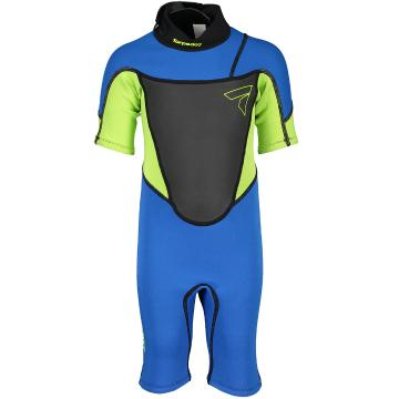Torpedo7 Kids Evo 2/2 Spring Suit - Blue/Neon Lime