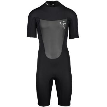 Torpedo7 Mens Evo 2/2 Spring Suit  - Black/Black