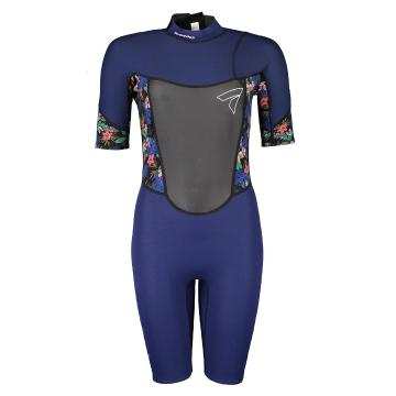 Torpedo7 Women's Evo 2/2 Spring Suit - Navy/Floral