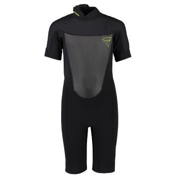 Torpedo7 Youth Boy's Evo 2/2 Spring Suit  - Black/Black