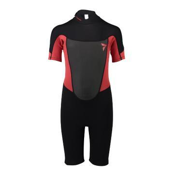 Torpedo7 Youth Boys Evo 2/2 Spring Suit - Black/ BR Red