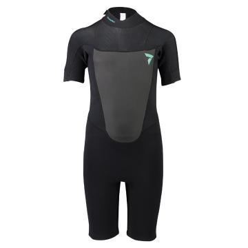 Torpedo7 Youth Girls Evo 2/2 Spring Suit - Black/Blk Palm