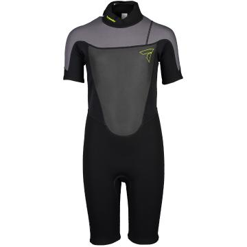 Torpedo7 Youth Boy's Evo 2/2 Spring Suit - Black/Charcoal